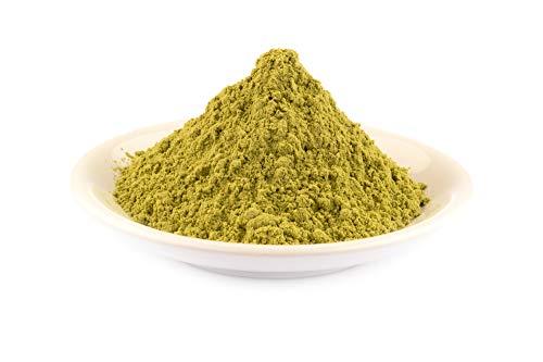 Bio Grünkohl Pulver 1 kg Rohkost, aromatisches belebendes 100% Kale Grün Kohl Pulver, ideal für Superfood Smoothies Saft, Trinks, Shakes, nicht wasserlöslich 1000g
