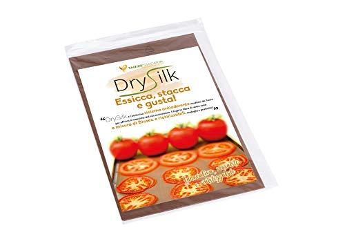 Tauro Essiccatori, sistema antiaderente DrySilk per Essiccatori Alimentari, 5 fogli in fibra di vetro antiaderente riutilizzabili. Prodotto 100% Made in Italy