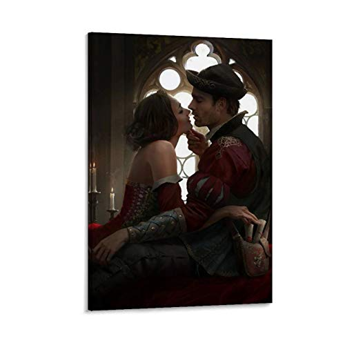 WMLGBO Nilfgaard Deck Carthia Van Canten Classic Art Restaurant Hotel Poster Canvas Art Poster and Wall Art Picture Print Modern Family Bedroom Decor Posters 20x30inch(50x75cm)