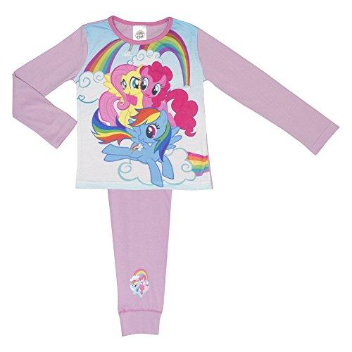 4-10 Anni Cartoon Character Products Set da Bambina My Little Pony Pajama Shortie