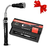 Gifts For Dad Fathers Day,Magnetic Pickup Tool with 3 LED Lights,Telescoping Magnet Flashlight,Gadget For Men, Unique Birthday Gifts For Men,Dad,Him,DIY Handyman, Husband, Boyfriend