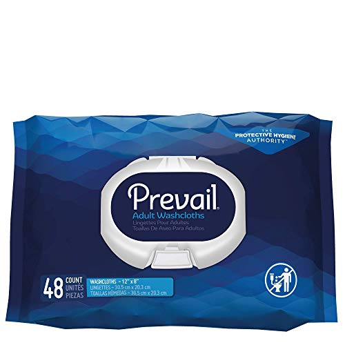 Prevail Soft Pack Adult Washcloths, 12'x 8' (576 Count)