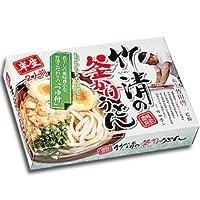 本場 讃岐うどん 竹清釜かけうどん 2食入 X5箱 セット (半生麺)
