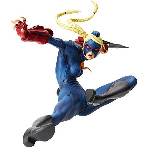 Hdge No 10 Ultra Street Fighter IV Decapre Blue ver. Scale Complete Figure ZERO Character Model Fighting Game Capcom Union CreativeUnion Creative