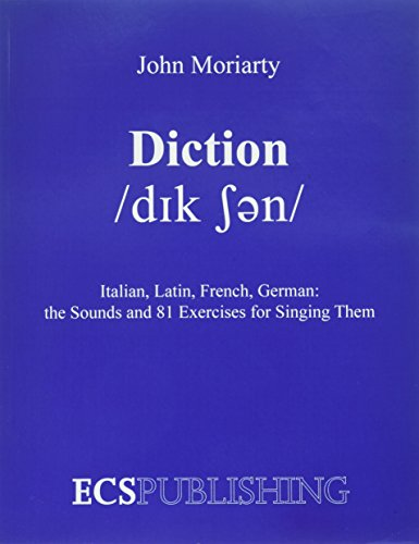 Diction Italian, Latin, French, German...the Sounds and...