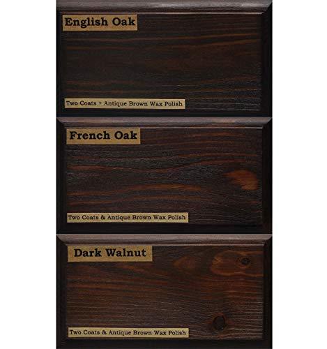 Littlefair's, Holzfarbe, umweltfreundlich und auf Wasserbasis - klassisches Sortiment, Dark Collection, Tester Pot
