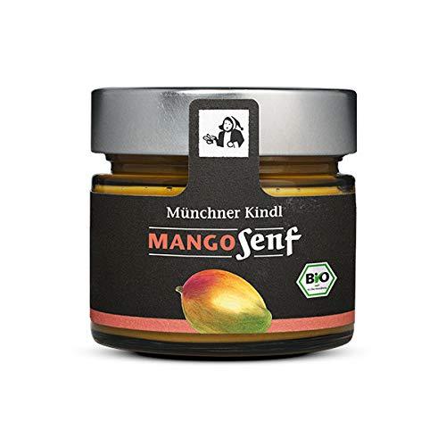 Münchner Kindl Senf Bio Mango Senf Bioland (1 x 125 ml)