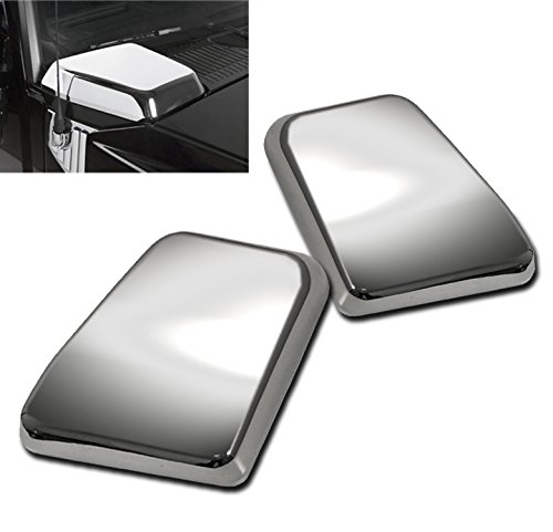 ZMAUTOPARTS Side Air Intake Hood Vent Cover Chrome Bezel For 2003-2009 Hummer H2