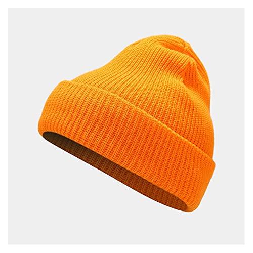 XYBB Caver Bonnet Ladies Casual Gorra Mujer otoño Invierno Sombreros Gorros Hechos Punto...