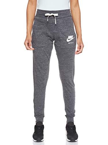 Nike Damen Trainingshose Gym, Grau (Anthracite/Sail) , XL