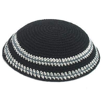 Sombrero judío Kipà clássica tejida cubrecabeza étnica judía de Israel gorra