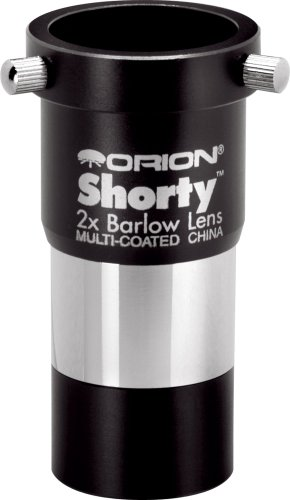 Orion 08711 Shorty 1.25-Inch 2x Barlow Lens...