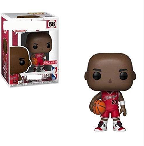 A-Generic Pop Vinyl NBA: Michael Jordan Chicago Bulls - (Rojo) 10 cm Juguetes de Vinilo coleccionables