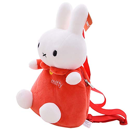 DONGER Cute Bunny Bag Child Child Backpack Baby Backpack ToyRed miffy bag