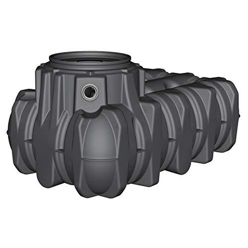 GRAF Regenwasser-Flachtank Platin Regenwassertank Zisterne Wassertank 3.000 L
