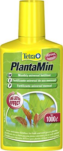 Tetra - Fertilizante mensual PlantaMin para plantas de acuario frondosas y verdes, 250 ml