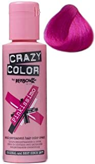 (crazy color temporary hair color pinkissimo (pink