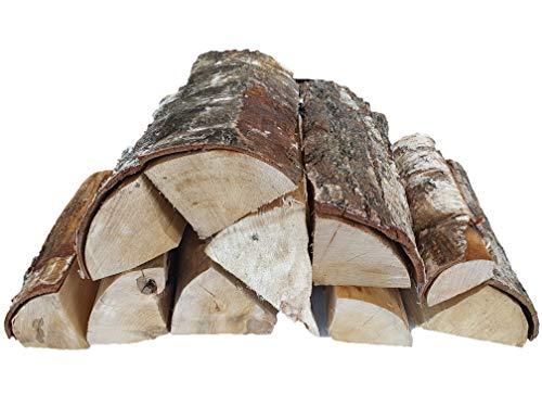 Vertiflower® 30 kg ofenfertiges Birke Brennholz 25 cm lang trocken - Lieferung KOSTENLOS - Kaminholz Feuerholz Grillholz
