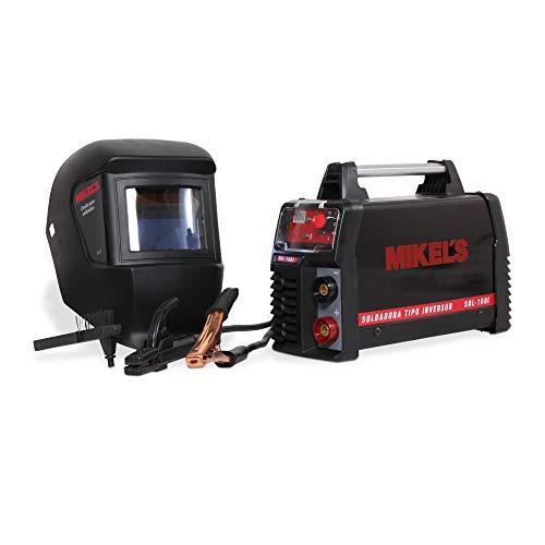 Mikels SOL-160i Tipo Inversor 160 Amp con Careta Electrónica y 4 ACC