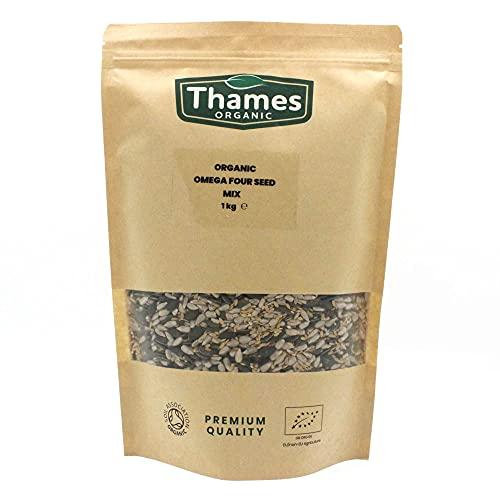 Organic Omega Four Seed Mix 1kg