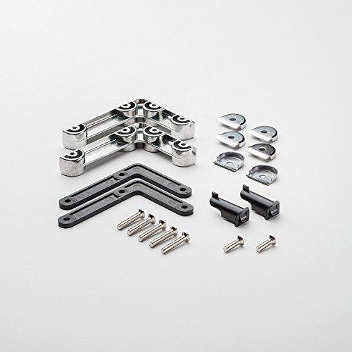 Preisvergleich Produktbild Swissmobilia Montageset Klapptür für USM Haller,  mit 2 Metallwinkeln