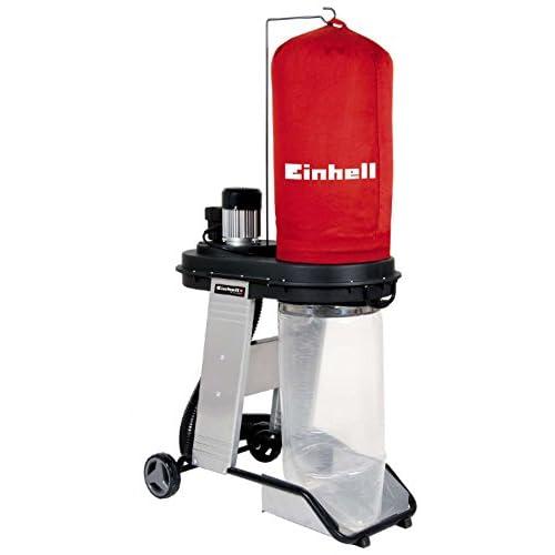Einhell TE-VE 550 A Impianto di scarico (550 W, volume sacco di raccolta 65 l, vuoto 1,6 kPa, presa automatica, telaio)