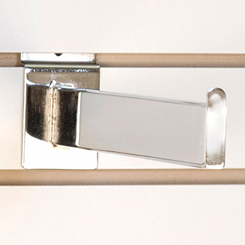 Slatwall faceout 12 Inch Max 66% OFF in Chrome Box Rapid rise - of 10