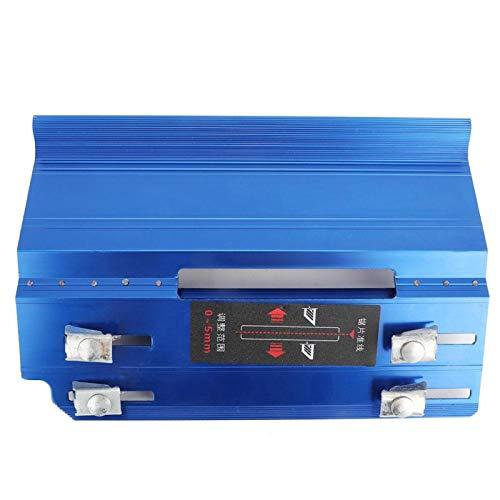 Gmkjh Máquina biseladora de Azulejos, biseladora de Azulejos, cortadora de Piedra de Escritorio de 45 Grados, máquina cortadora de Biselado Manual(Azul)