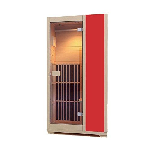 Zen Sauna de Infrarrojos Brighton – Cabina de Infrarrojos Modular, 1...