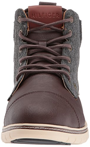 Tommy Hilfiger Men's Ferguson Fashion Boot, Brown, 11.5 Medium US