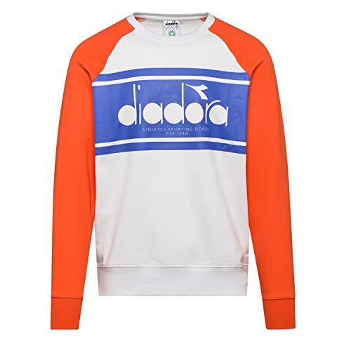 Diadora - Vellón Sweatshirt Crew Spectra para Hombre (EU S)