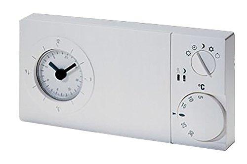 Logafix Uhrenthermostat UTW Wochenprogr. 230V, 1 Wechsler, 5 Programme, Wand/UP