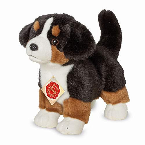 Teddy Hermann 91930 Hund Berner Sennenhund Welpe 23 cm, Kuscheltier, Plüschtier
