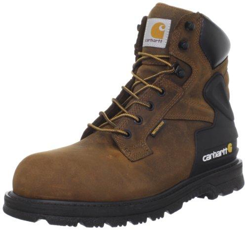 Carhartt Men's CMW6220 6 Steel Toe Work Boot,Bison Brown,9.5 2E US