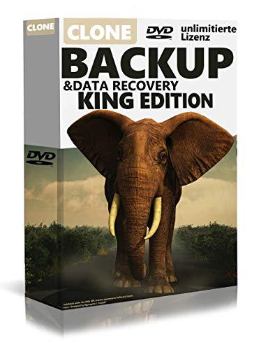Backup&Data Recovery Datensicherung, klont ganze Rechnersysteme , für Windows 10, 8.1, 8, 7 Vista und XP