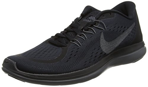 Nike Mens Flex 2017 RN Running Shoe (7.5 D(M) US, Black/Metallic Hematite/Anthracite/Dark Grey)