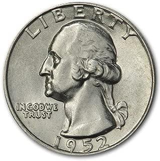 1952 D Washington Quarter AU Quarter About Uncirculated