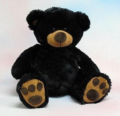 Wishpets 11  Sit. Pawee schwarz Bear Plush Toy by Wishpets
