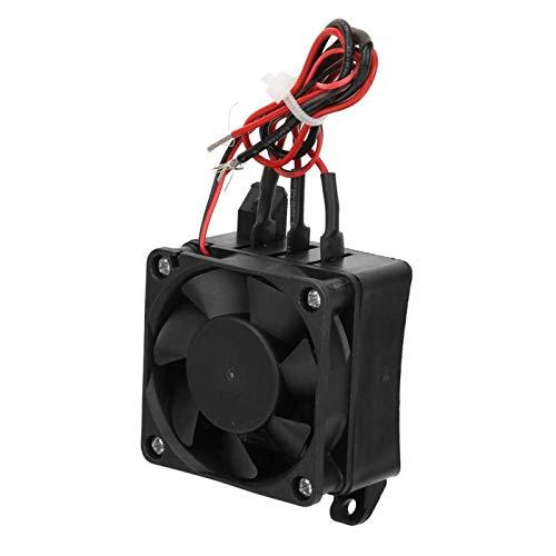 Calentador de elemento calefactor, elemento de aislamiento de temperatura Calentador PTC con ventilador 110 V con ventilador para acondicionadores de aire para(24V fan 350W)