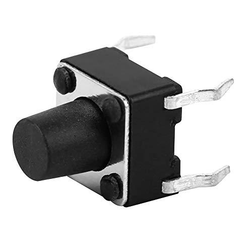 Weikeya Interruptor simple del tacto, interruptor de la tachuela hecho de la placa de circuito plástica de la vida de servicio