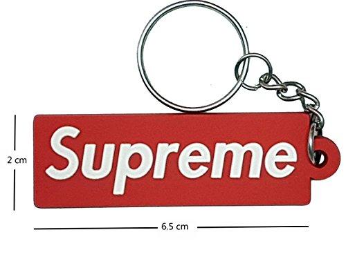 Various Supreme Schlüsselanhänger Luxus Keychain Rot