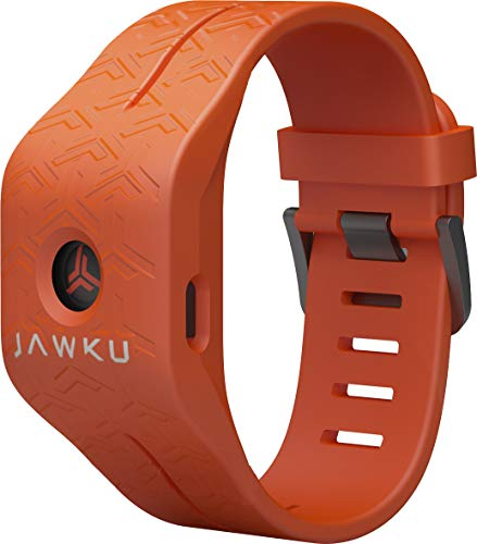 JAWKU Speed - The First Wearable to Measure Sprint Speed, Agility, Reaction Time/Test, Train and Track Performance (Orange)