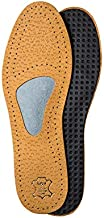 Orthotic Leather Shoe Insoles for Morton's Neuroma and Forefoot Pain, with Metatarsal Arch Support and Cushion, for Men & Women, Kaps Allevia (Men 11 US / 44 EUR)