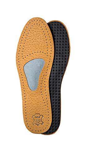 Kaps Plantillas Zapatos Ortopédicas Cuero para Neuroma de Morton y Dolor de Pies, con Soporte y Almohadilla para Arco Metatarso, para Hombres y Hujeres, Allevia, Todas las Tallas (46 EUR)