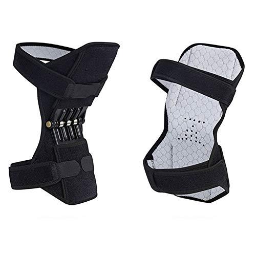Kniebandage mit seitlichen Stabilisatoren, Kniebandage, Scharnier-Kniebandage für Männer und Frauen, Kniebandage für Arthritis, Tennisverletzungen, Genesung
