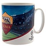 AS Roma - Champions League - Tazza in ceramica (9 x 8cm) (Multicolore)