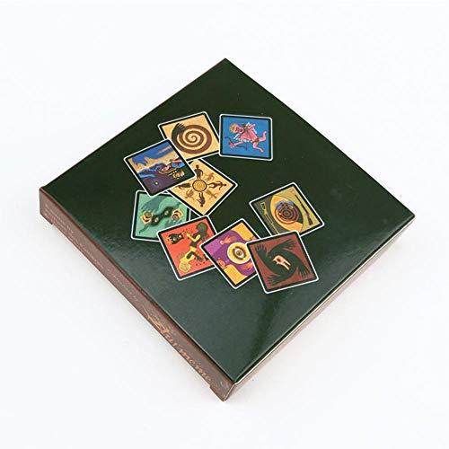 FENGHU Tarot Karten Tarot Karten Brettspiele Werwolf Spielkarten Mit Englischen Regeln Für Familie Spaß Kartenspiel Für Familie Geschenk-Party