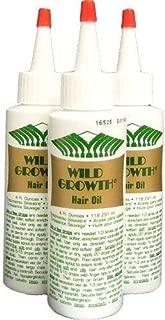 Wild Growth Hair Oil [3pcs x 4oz]