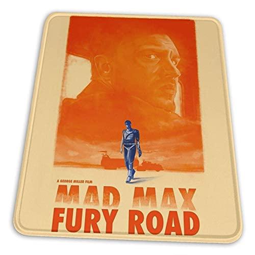 Mad Max Fury Road Mauspad Rutschfeste Gummibasis für Office-Gaming-Computer mit genähter Kante