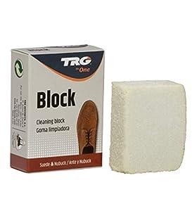 TRG The One - Goma Limpiadora para Calzado de Ante y Nubuck | Bloque Borrador de manchas en Zapatos | Limpieza y cuidado de piel, Bloque